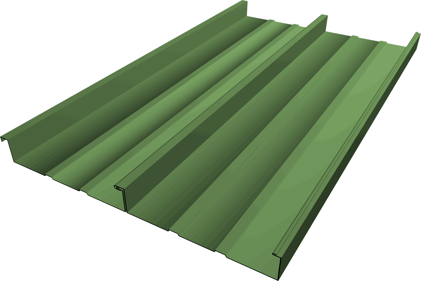 FSS-1.5 Standing Seam Roofing Panel