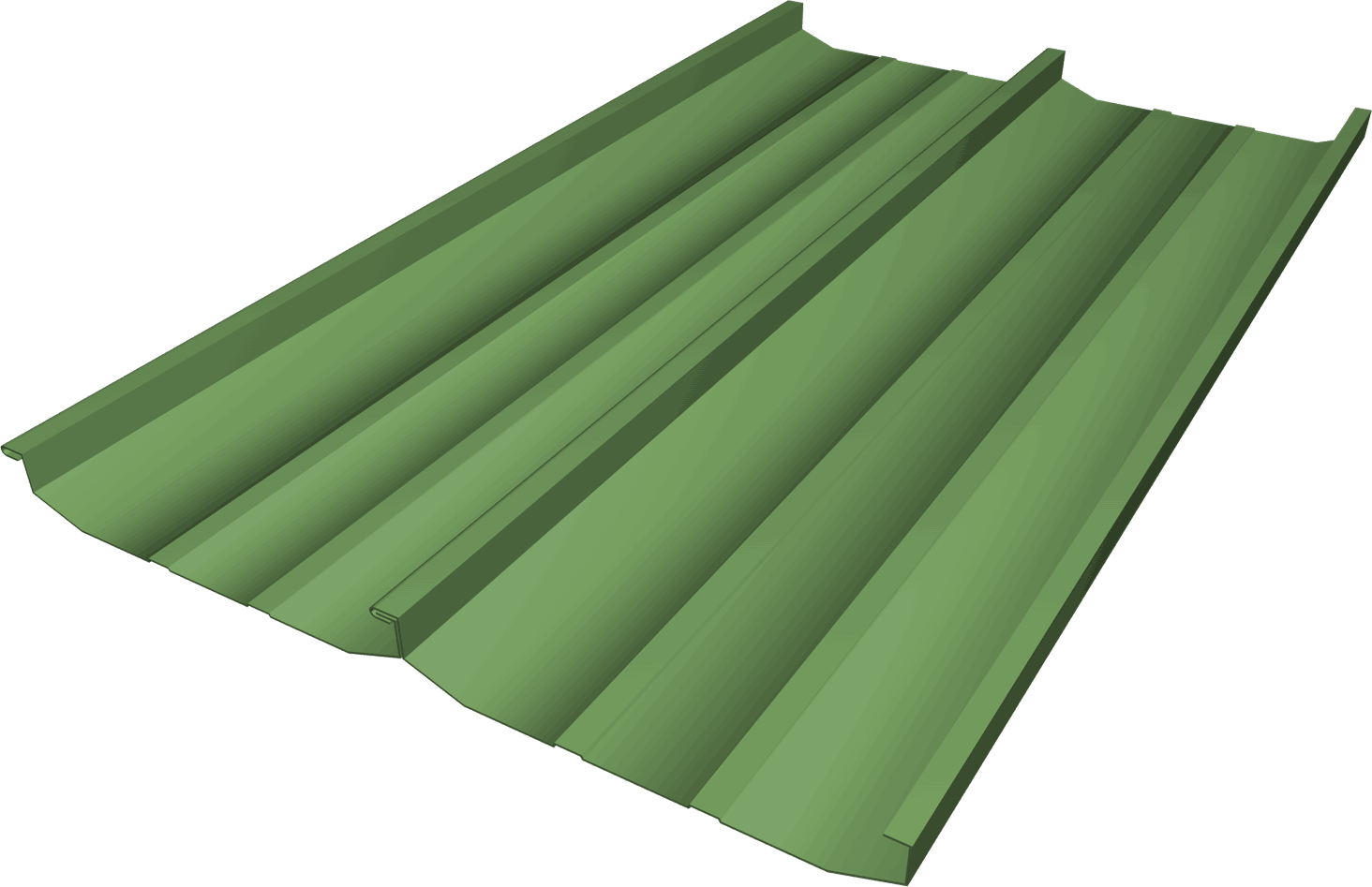 Standing Seam Metal Roofing Panel - FSS-18