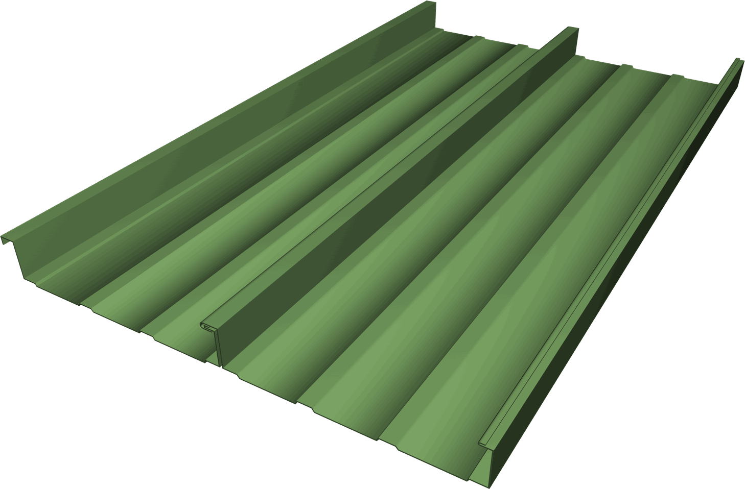 FSS-316 Standing Seam Roofing Panel